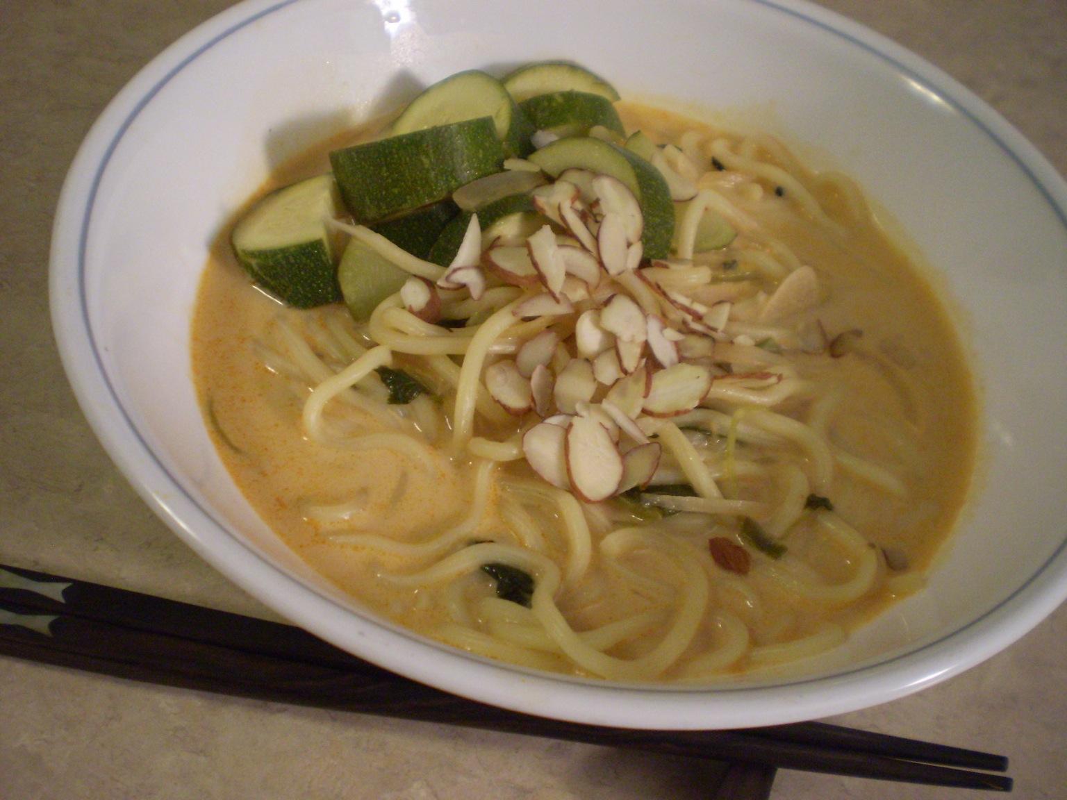 Coconut Thai Curry Noodle Soup