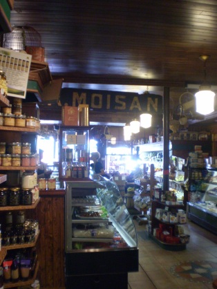 A inside view of Moisan.